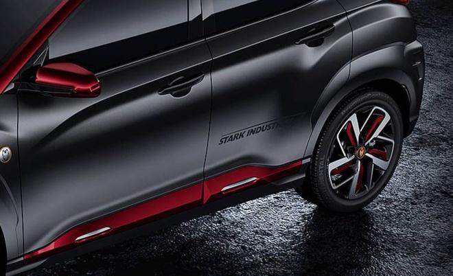 Hyundai Kona ban Iron Man chinh thuc ra mat hinh anh 6