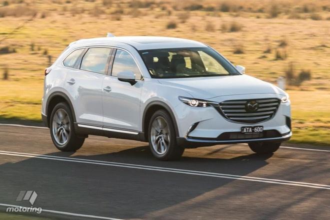 Hyundai Santa Fe danh bai Mazda CX-9? hinh anh 1