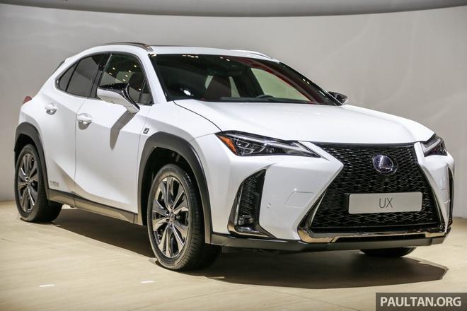 SUV hang sang co nho Lexus UX 2019 lan dau den Dong Nam A hinh anh