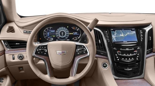 SUV co bap Cadillac Escalade 2020 se co ba phien ban dong co hinh anh 6