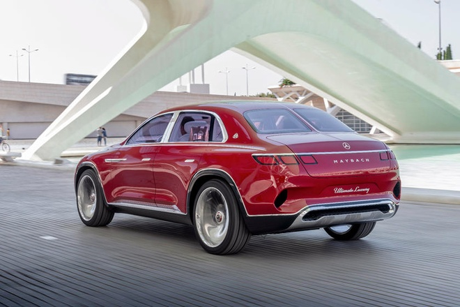 Concept Maybach Ultimate Luxury - dinh cao cua xe sang hinh anh