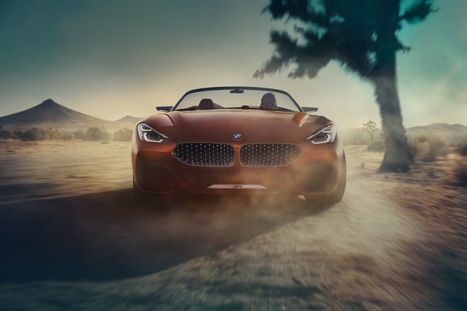 BMW Z4 2019 vua lo dien da thu hut chu y vi qua dep hinh anh