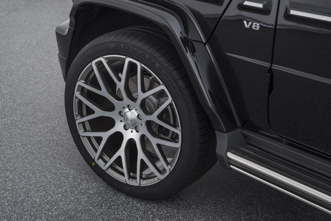 Mercedes G500 ban do Brabus anh 5