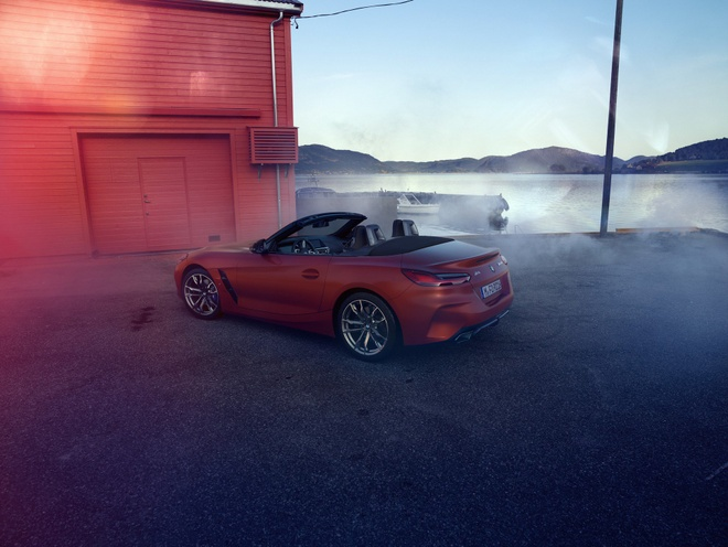 BMW Z4 M40i 2019 he lo hinh anh noi that hinh anh 3