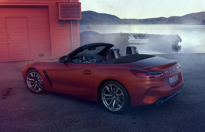 BMW Z4 M40i 2019 he lo hinh anh noi that hinh anh