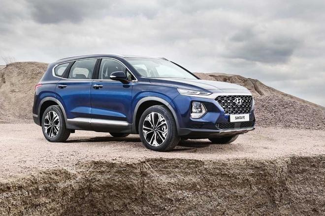 Hyundai SantaFe 2019 sap ra mat, ban cu chenh gia hon 100 trieu hinh anh 2