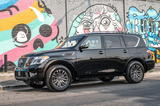 Nissan Armada 2019 chot gia tu 46.000 USD hinh anh