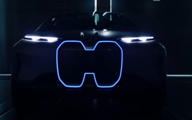 BMW he lo concept sieu xe dien Vision iNEXT hinh anh