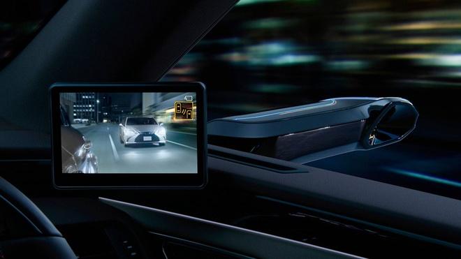 Lexus ES thay guong chieu hau bang camera, chi ban tai Nhat Ban hinh anh 4