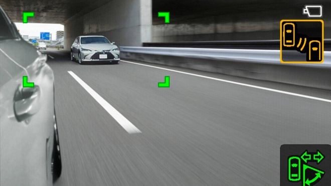 Lexus ES thay guong chieu hau bang camera, chi ban tai Nhat Ban hinh anh 5