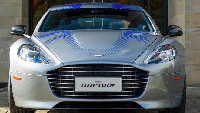 Xe dien cuc manh cua Aston Martin sap ra mat hinh anh 4
