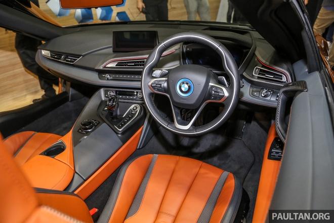 Sieu xe BMW i8 Roadster dau tien cap ben Malaysia hinh anh 8