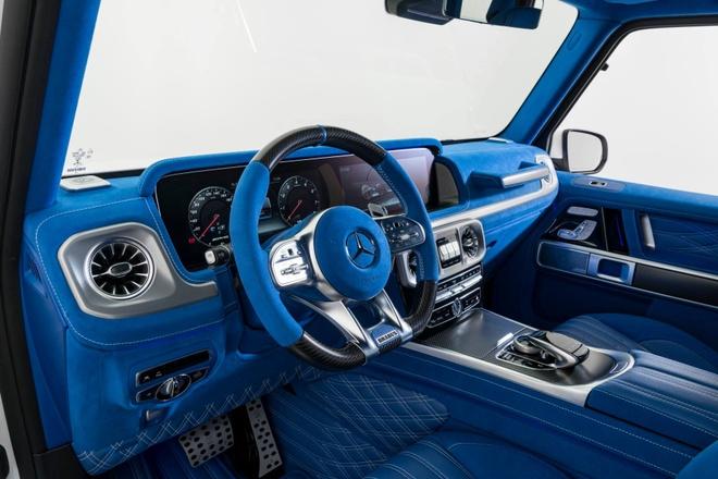 'Vua dia hinh' Mercedes-AMG G63 noi that xanh doc dao hinh anh 8