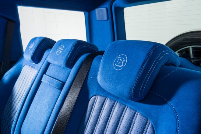 'Vua dia hinh' Mercedes-AMG G63 noi that xanh doc dao hinh anh 2
