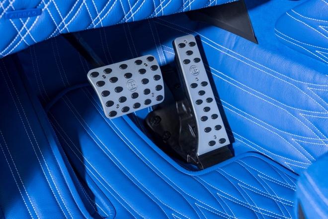 'Vua dia hinh' Mercedes-AMG G63 noi that xanh doc dao hinh anh 5