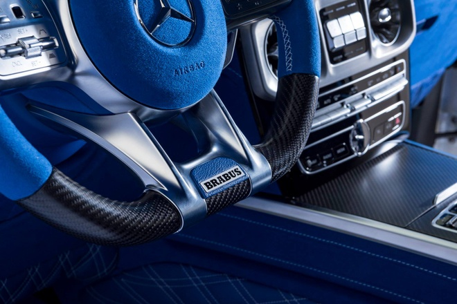 'Vua dia hinh' Mercedes-AMG G63 noi that xanh doc dao hinh anh
