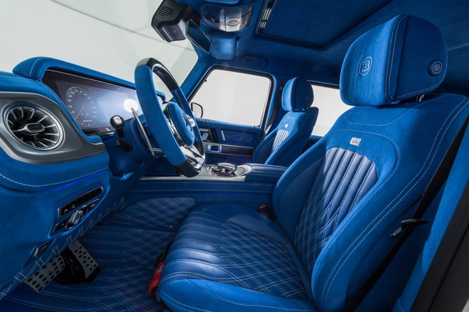 'Vua dia hinh' Mercedes-AMG G63 noi that xanh doc dao hinh anh 1