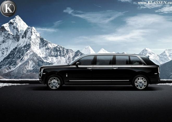 Ban do Rolls-Royce Cullinan thanh limousine chong dan hinh anh