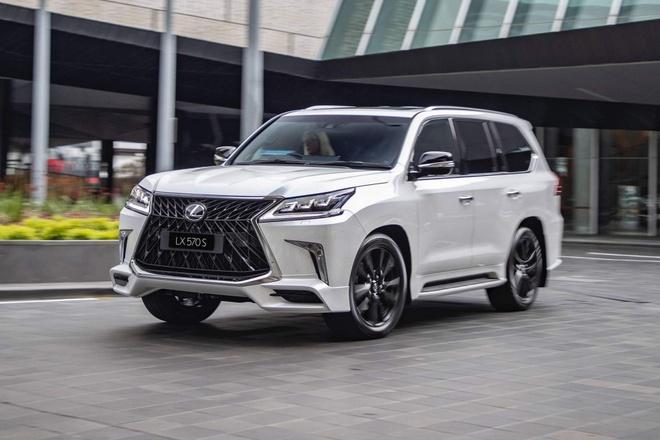 'Chuyen co mat dat' Lexus LX 570 S 2019 co gia gan 120.000 USD hinh anh
