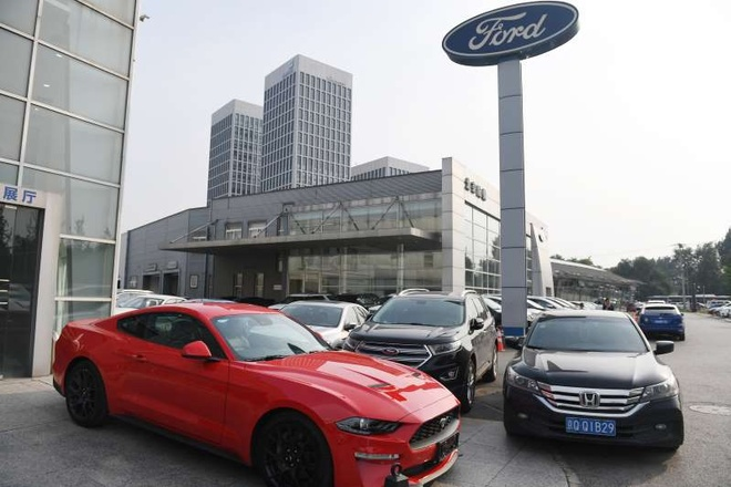 Ford va Baidu sap thu nghiem xe tu lai tai Trung Quoc hinh anh 6