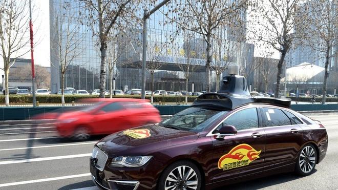Ford va Baidu sap thu nghiem xe tu lai tai Trung Quoc hinh anh 2