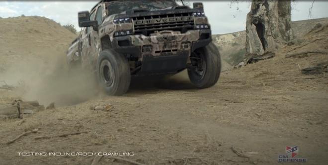 Khung long off-road Chevrolet Silverado ZH2 xuat hien hinh anh 3