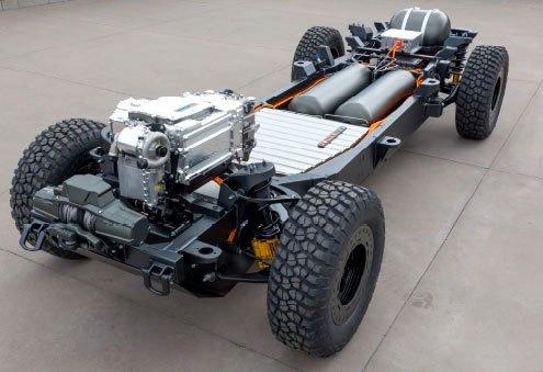 Khung long off-road Chevrolet Silverado ZH2 xuat hien hinh anh 6