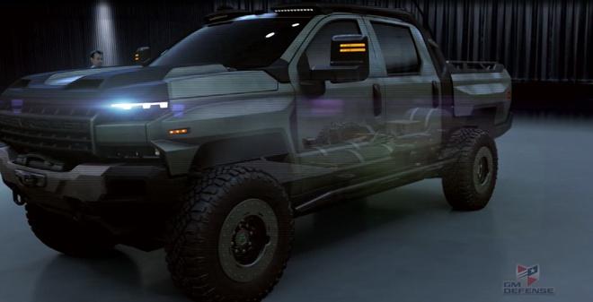 Khung long off-road Chevrolet Silverado ZH2 xuat hien hinh anh 1