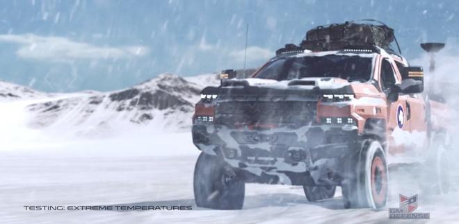 Khung long off-road Chevrolet Silverado ZH2 xuat hien hinh anh 2