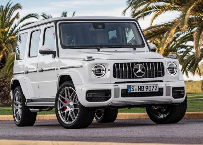 Mercedes-AMG G63 2019 ban dau nam sau, gia 147.000 USD hinh anh