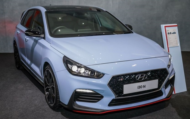 Hatchback the thao Hyundai i30 N moi xuat hien tai Malaysia hinh anh 1