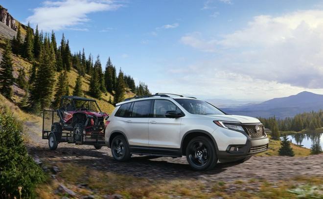 Honda Passport 2019 xuat hien, doi dau Hyundai Santa Fe hinh anh 5