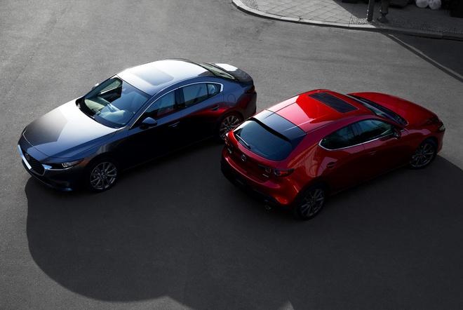 Lo hinh anh chinh thuc dau tien Mazda3 2019 hinh anh