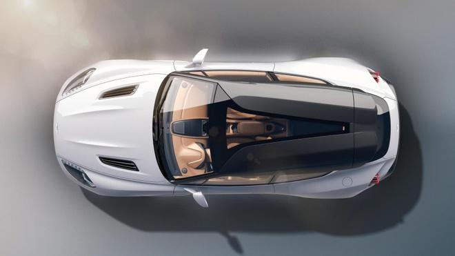 Aston Martin Vanquish Zagato dep xuat sac trong thiet ke moi hinh anh 1