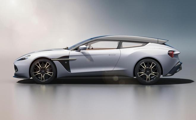 Aston Martin Vanquish Zagato dep xuat sac trong thiet ke moi hinh anh