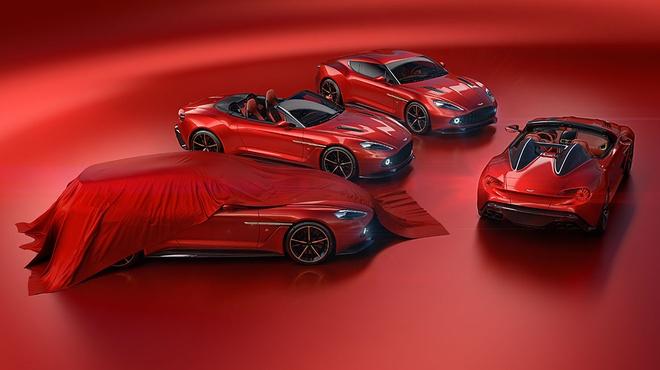Aston Martin Vanquish Zagato dep xuat sac trong thiet ke moi hinh anh 5