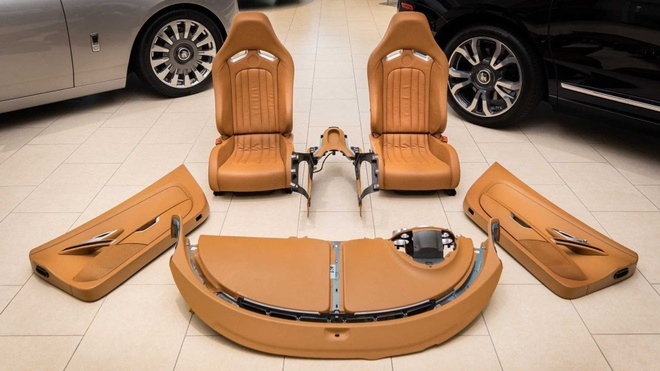 150.000 USD chi mua duoc vai mon noi that Bugatti Veyron hinh anh