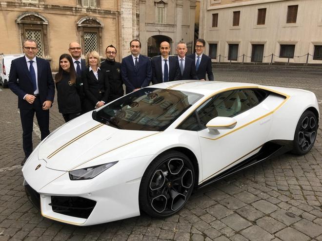 Co hoi so huu sieu xe Lamborghini cua Giao hoang voi 10 USD hinh anh 4