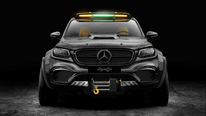 Mercedes X-Class do 6 banh thach thuc moi dia hinh hinh anh 3