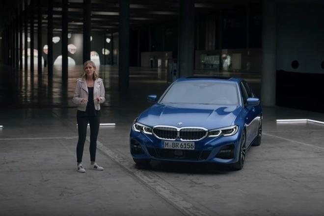 BMW 3 Series moi trang bi nhieu cong nghe hien dai hinh anh