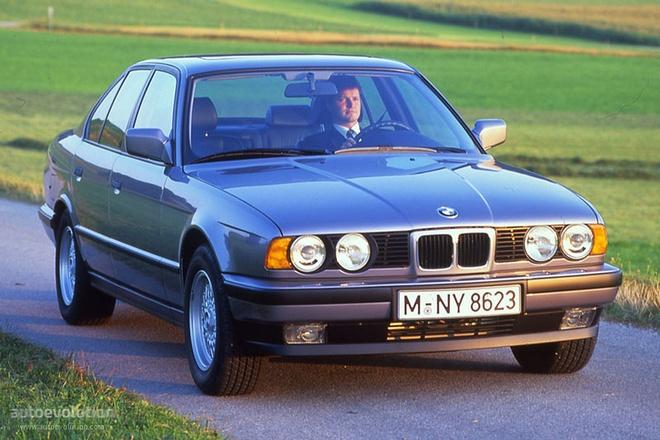 Dan xe BMW doi 1994 chua lan banh bi bo hoang anh 5