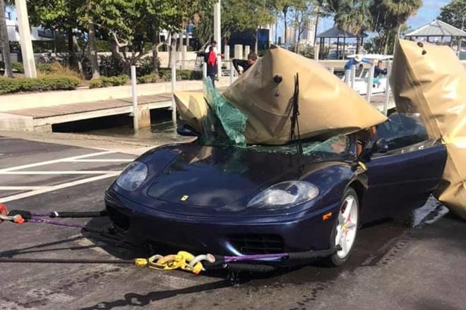 Sieu xe Ferrari 360 lao xuong bien o My hinh anh 6