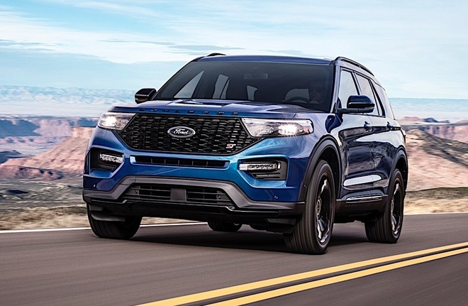 Ford Explorer ST 2020 manh nhat tu truoc toi nay hinh anh