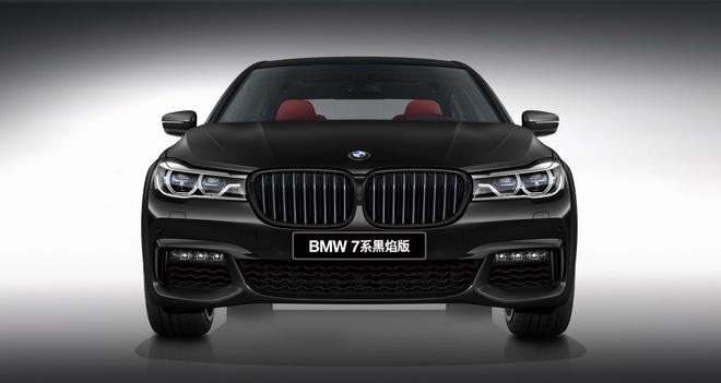 BMW 7-Series co ban mau den huyen bi 'Black Fire' cho chau A hinh anh