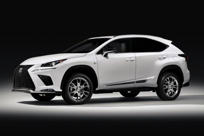 Lexus NX F-Sport ban dac biet gia tu 48.575 USD hinh anh