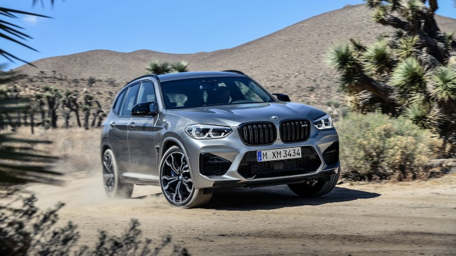 Vua lo dien, BMW X3 M va X4 M moi da co ngay ban hieu suat cao hinh anh