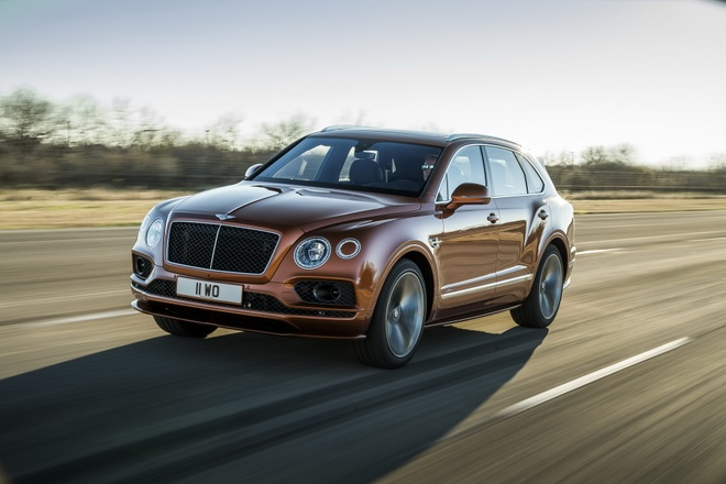 Bentley Bentayga Speed - SUV nhanh nhat hanh tinh ra mat hinh anh