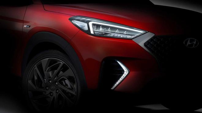 Hyundai Tucson sap co them phien ban the thao N Line hinh anh 2