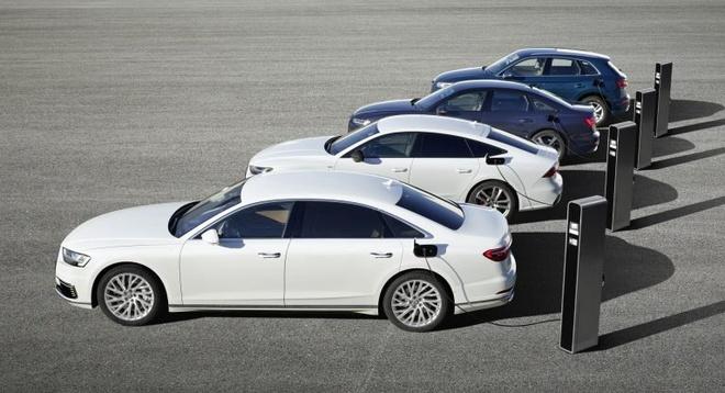 Audi bat ngo ra mat loat xe moi, su khac biet nam o cong nghe hybrid hinh anh 2