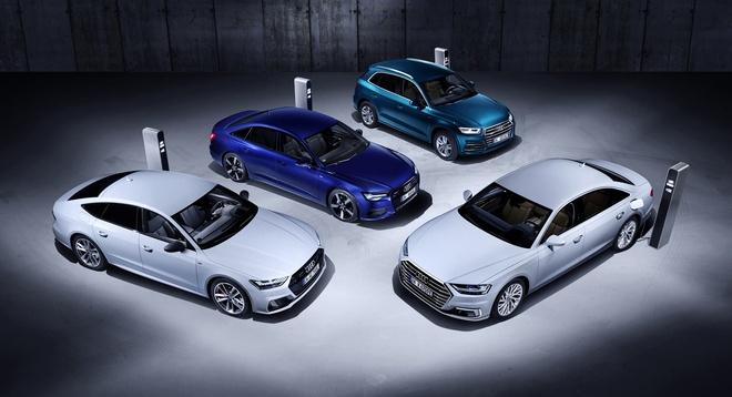 Audi bat ngo ra mat loat xe moi, su khac biet nam o cong nghe hybrid hinh anh 4